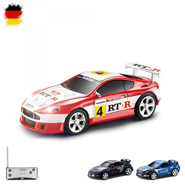 rc ferngesteuertes mini fahrzeug mit led modell bau auto. Black Bedroom Furniture Sets. Home Design Ideas