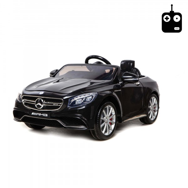 original mercedes s63 amg kinder elektroauto mit. Black Bedroom Furniture Sets. Home Design Ideas
