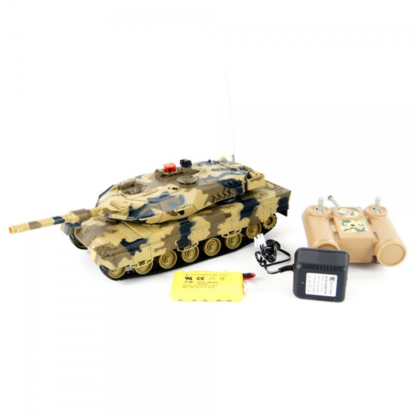 german leopard 2 a5 rc r c ferngesteuerter panzer mit. Black Bedroom Furniture Sets. Home Design Ideas