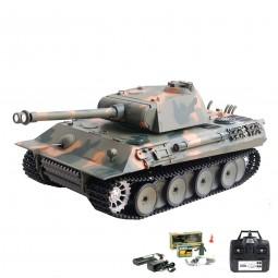 RC ferngesteuerter Panzer German Panther, Tank mit Metallgetriebe, Fahrzeug mit Schuss, Sound, Rauch
