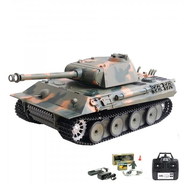 rc ferngesteuerter panzer german panther mit schuss sound