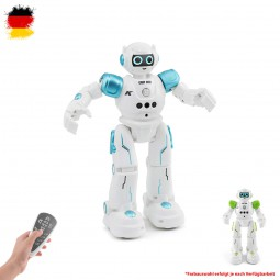 RC ferngesteuerter smarter Roboter mit Sound, Musik und Tanz-Funktion, Modell mit Akku und Ladekabel