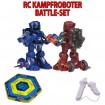 Battle-Set - 2 x IR RC ferngesteuerter Kampf-Roboter Modell inkl. Battle-Arena