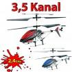 3.5 Kanal 2.4GHz RC R/C ferngesteuerter Hubschrauber, Heli Neu