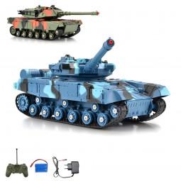 RC ferngesteuerter Panzer German Leopard, Modellbau Militär Tank, Kettenfahrzeug