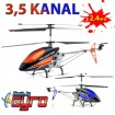 9118 - 3.5 Kanal XXL RC Modellbau Hubschrauber Gyro-Helikopter! 62cm-Modell!
