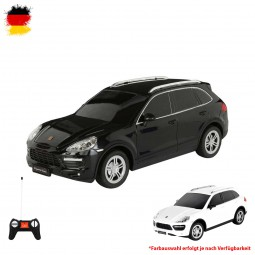 RC ferngesteuerter Porsche Cayenne Turbo mit LED, Original Lizenz-Fahrzeug, Auto-Modell ca. 20cm
