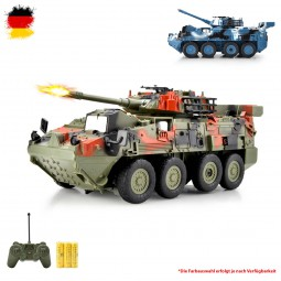 RC ferngesteuerter Panzer mit Reifen, Militärfahrzeug Modellbau, Tank, Jeep, Neu