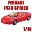 FERRARI F430 SPIDER - 1:14 Auto/Car RC Lizenz-Modell Modellbau - Neu