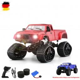 RC ferngesteuerter Off-Road Militär Fahrzeug, Auto mit LED, Truck, 2,4GHz, LKW mit 4WD Antrieb