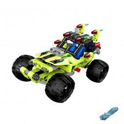 Buggy-Auto aus Bausteinen mit Rückziehfunktion, Jeep, Fahrzeug, Modellbau, Neu