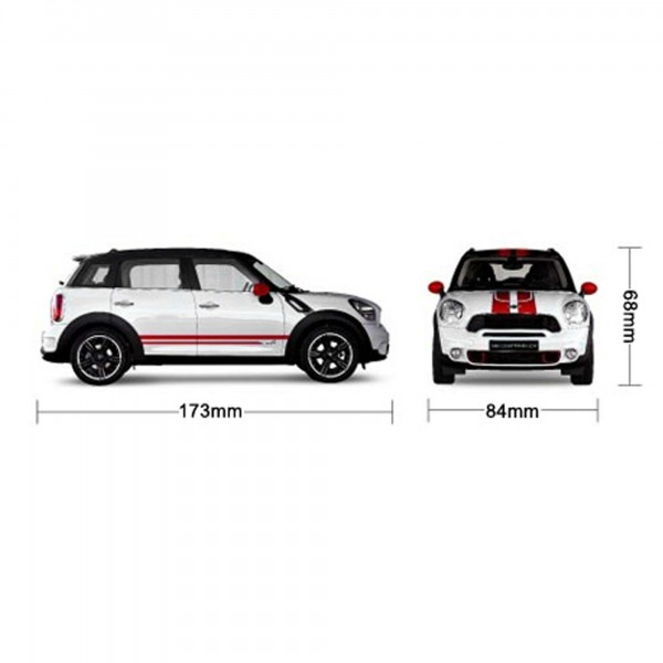 bmw mini cooper jcw rc ferngesteuertes lizenz modell auto. Black Bedroom Furniture Sets. Home Design Ideas