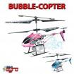 Bubble-Copter 3.5 Kanal RC ferngesteuerter Hubschrauber Heli