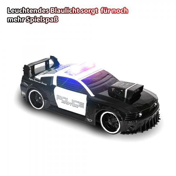 RC ferngesteuerter Polizeiauto mit Sirene und Licht Auto,Police Fahrzeug-Modell