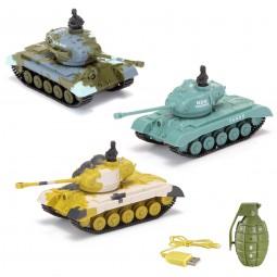 RC ferngesteuerter U.S. M26 Pershing Panzer mit Kampf-Modus 1:77, Neu