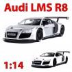 Original Audi R8 LMS, RC ferngesteuertes Auto, Sportwagen, Fahrzeug Modell mit Fernsteuerung, 1:14