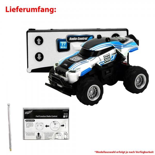 rc ferngesteuertes mini monster truck mit akku. Black Bedroom Furniture Sets. Home Design Ideas
