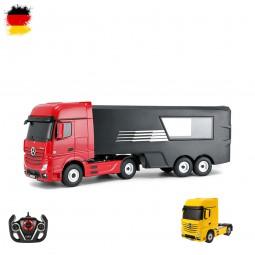 RC ferngesteuerter Mercedes-Benz Actros LKW mit Container, Truck mit Licht, Auto, Fahrzeug im 1:26