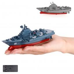 RC ferngesteuertes Mini Kriegsschiff, Flugzeugträger, Schiff, Boot, Modell, Neu