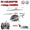 i-Helicopter PRO Spy-CAM - i-Helikopter + Kamera/Cam RC Hubschrauber f�r iPhone-Handy 3G/4/HTC/Samsu