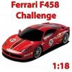 Original - 1:18 Ferngesteuertes Auto Ferrari 458 Challenge Im Lizenziertem Top-Design, RC Modell