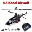 Bell222 Airwolf - Original Colco 4 Kanal 2.4Ghz RC Hubschrauber! Modellbau-Helikopter