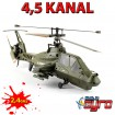 4.5 Kanal 2.4Ghz RC Helikopter Modellbau-Hubschrauber Modell-Heli Helikopter