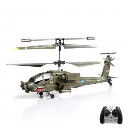 Syma S109 3.5Kanal RC ferngesteuerter Apache AH-64 Hubschrauber-Modell, Helikopter, Neu