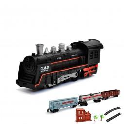 Elektrische Eisenbahn, Lokomotive, Zug, Lok mit Sound und Licht, Modellbau, Neu