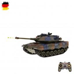 RC ferngesteuerter Kampf-Panzer German Leopard 2 A6, Schuss- und Sound, mit Akku und Fernsteuerung