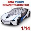 Original BMW Vision Concept Car RC ferngesteuertes Auto Lizenz-Modell