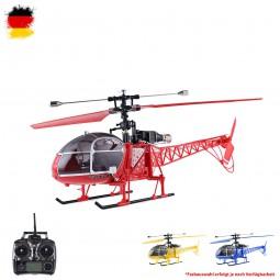 RC ferngesteuerter 4.5 Kanal Lama Helikopter mit Akku und Ladekabel, 2.4GHz Hubschrauber-Modell