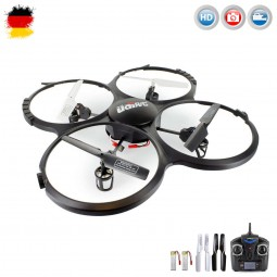 RC ferngesteuerter Quadcopter mit HD-Kamera, 4.5 Kanal Drohne, Quadrocopter Modell mit Cam