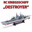 Smasher - RC ferngesteuertes Schiff, Boot, Russiches Kriegsschiff Schlachtschiff Flugzeug-Tr�ger