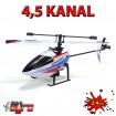 4,5 Kanal RC ferngesteuerter Hubschrauber Gyro-Modell Helikopter, Neu