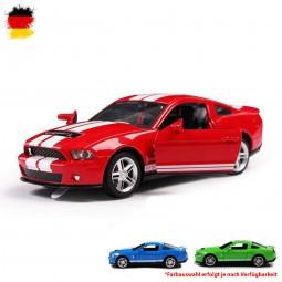 Ford Mustang GT500 Lizenz-Auto mit Rückziehfunktion,Fahrzeug mit Licht und Sound, Maßstab 1:32