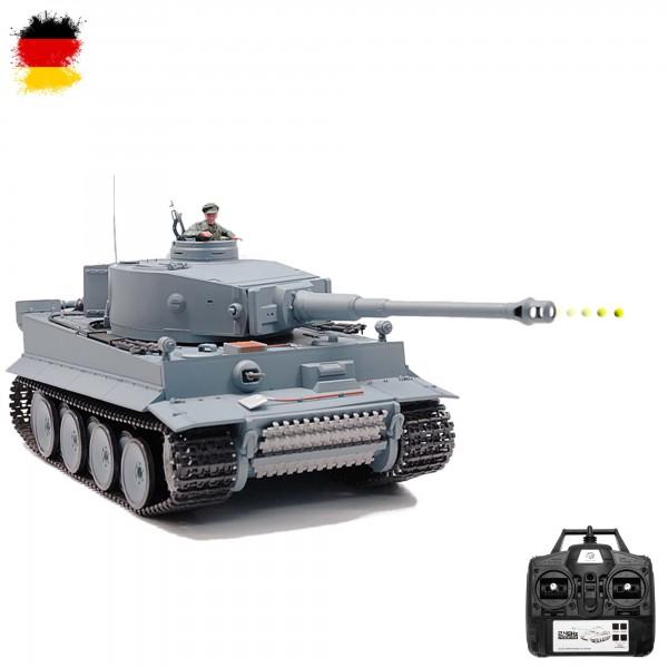 rc ferngesteuerter kampf panzer german tiger i fahrzeug. Black Bedroom Furniture Sets. Home Design Ideas