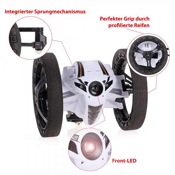 rc ferngesteuertes droiden fahrzeug mit sprung funktion. Black Bedroom Furniture Sets. Home Design Ideas