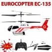 3.5 Kanal RC ferngesteuerter Rettungs-Helikopter EC-135, Modell, Neu