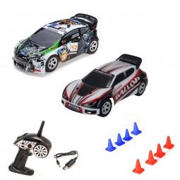 RC ferngesteuertes Rallye Racing Fahrzeug mit Akku und 2.4GHz, Fahrzeug, Auto Modell in 1:24