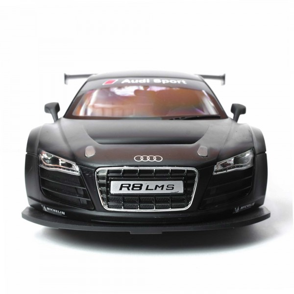 original audi r8 lms rc ferngesteuertes lizenz modell auto. Black Bedroom Furniture Sets. Home Design Ideas