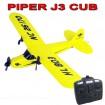 RC ferngesteuertes PIPER J-3 CUB Training Flieger Flugzeug-Modell! Neu