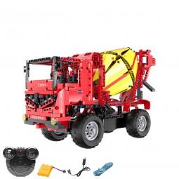 RC ferngesteuerter Zementmischer aus Bausteinen mit Fernbedienung, Fahrzeug, Neu