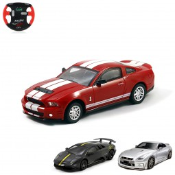 RC Mini Lizenzauto im Ford, Lamborghini oder Nissan Design, 1:43, Ferngesteuertes Fahrzeug, Auto