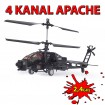 APACHE AH-64 - Original Colco - 4 Kanal RC Hubschrauber! Modellbau-Helikopter! 2,4GHz-Edition!