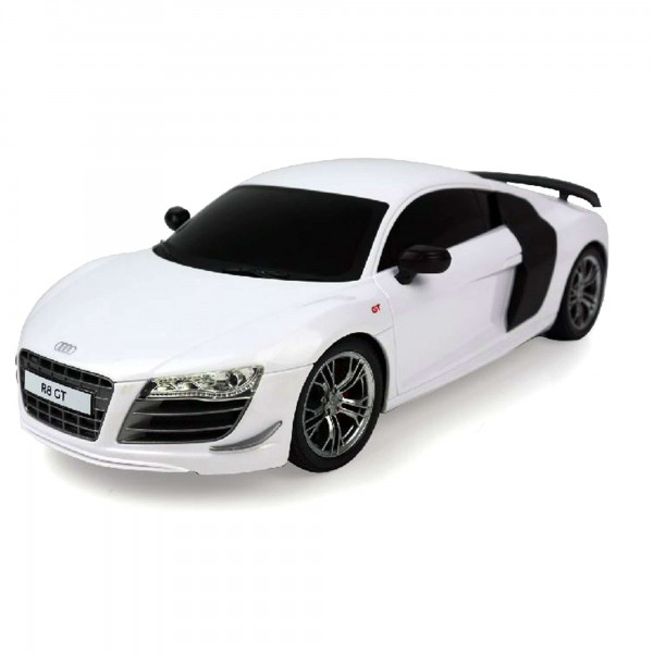 original audi r8 gt lizenz rc ferngesteuertes auto modellbau neu 1 24 rc modellautos. Black Bedroom Furniture Sets. Home Design Ideas