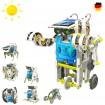 13 in 1 Roboter Konstruktions-Bauset mit Solar, Droide, Baukasten, Baustein-Set, Spielzeug Modell