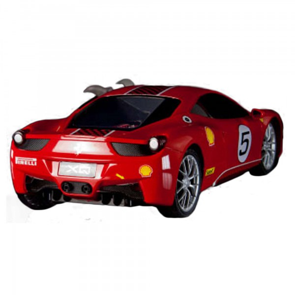 original 1 18 ferngesteuertes auto ferrari 458 challenge. Black Bedroom Furniture Sets. Home Design Ideas