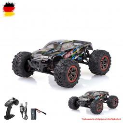 RC ferngesteuerter Off-Road Monster Truck Buggy mit Akku und Ladekabel, 2.4GHz Fahrzeug, 1:10 Auto