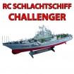 CHALLENGER - RC ferngesteuertes Boot/Schiff Kriegsschiff-Modell - Milit�r-Schlachtschiff Modellbau!